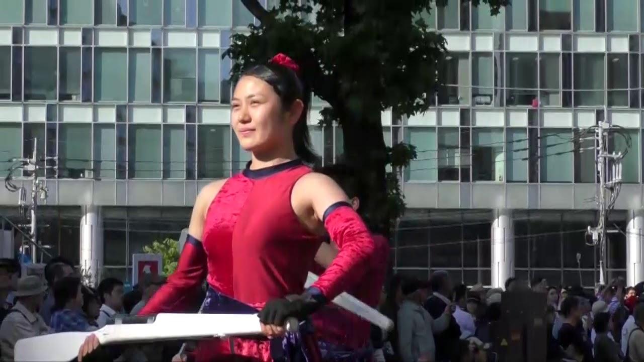 博多どんたく 花のマーチングパレード2018