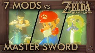 7 Famous Characters Get the Master Sword - Zelda Breath of the Wild