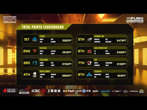 Hong Kong PUBG World Invitational  (English Commentary)