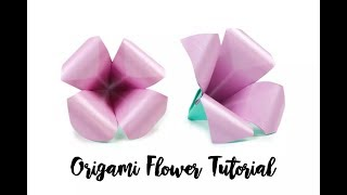 DIY origami lily flower ||Whats Trending||