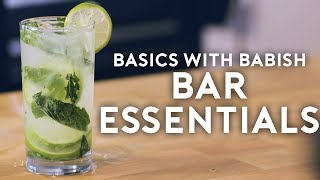 Bar Essentials | Basics with Babish thumbnail