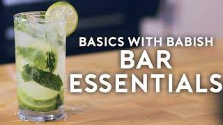 Bar Essentials   Basics with Babish by : Binging with Babish