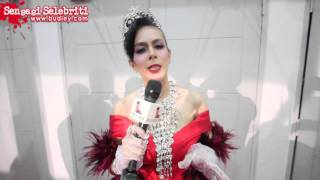 Fesyen Didie Alias di Anugerah Lawak Warna 2015