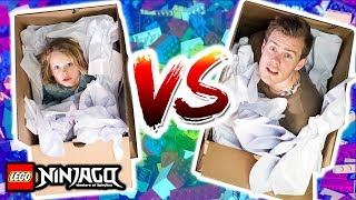 Escape the GIANT BOX Challenge with BIGGY NORRIS
