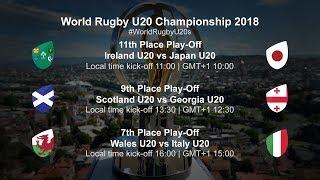U20 Championship Day 5 - Ireland U20 v Japan U20