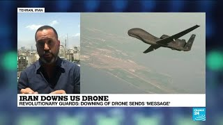 """Iran-US tensions: """"The shooting down of an American drone is a clear message to Washington"""""""