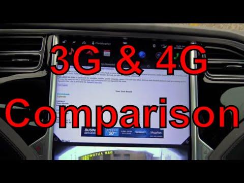 Tesla Motors: 4G vs 3G Speedtest-Should you Upgrade to LTE???