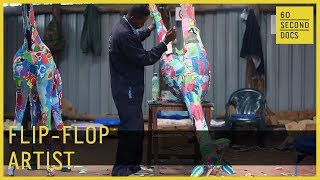 Flip-Flop Art | Ocean Sole // 60 Second Docs