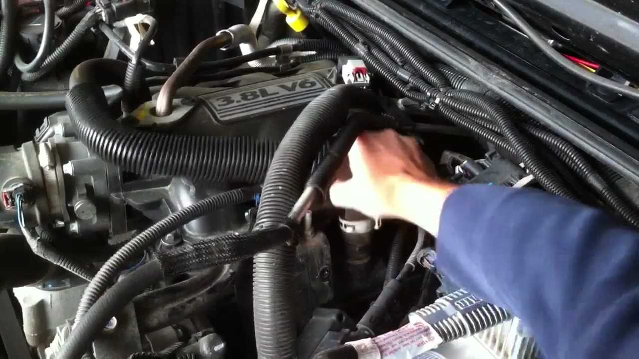 Pcv Valve Replacement For A Wrangler 3 8l Youtube