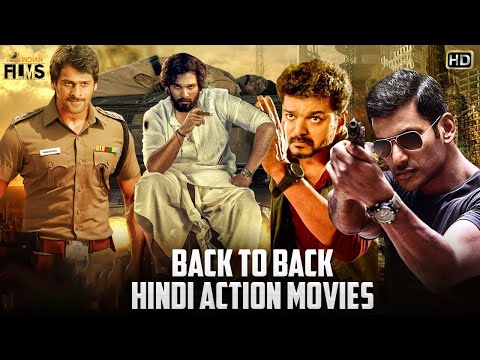 2020 Back To Back Hindi Dubbed Action Movies | South Indian Hindi Dubbed Movies | Mango Indian Films