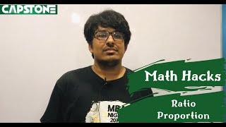 Math Hacks: Ratio, Proportion Short-cuts