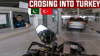 Crossing into Turkey Ep. 22 | Solo Motorcycle Tour From Germany to Pakistan and India BMW G310GS