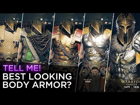 Assassin S Creed Odyssey Best Looking Body Armor Youtube