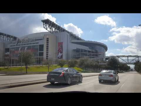 ♚ Driving by NRG Stadium Before Super Bowl LI