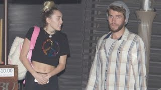 Miley Cyrus and Liam Hemsworth Might Have Already Gotten Married   Splash News TV