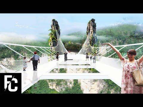 10 SCARIEST BRIDGES in the World | LIST KING | dangerous scary trift bridge