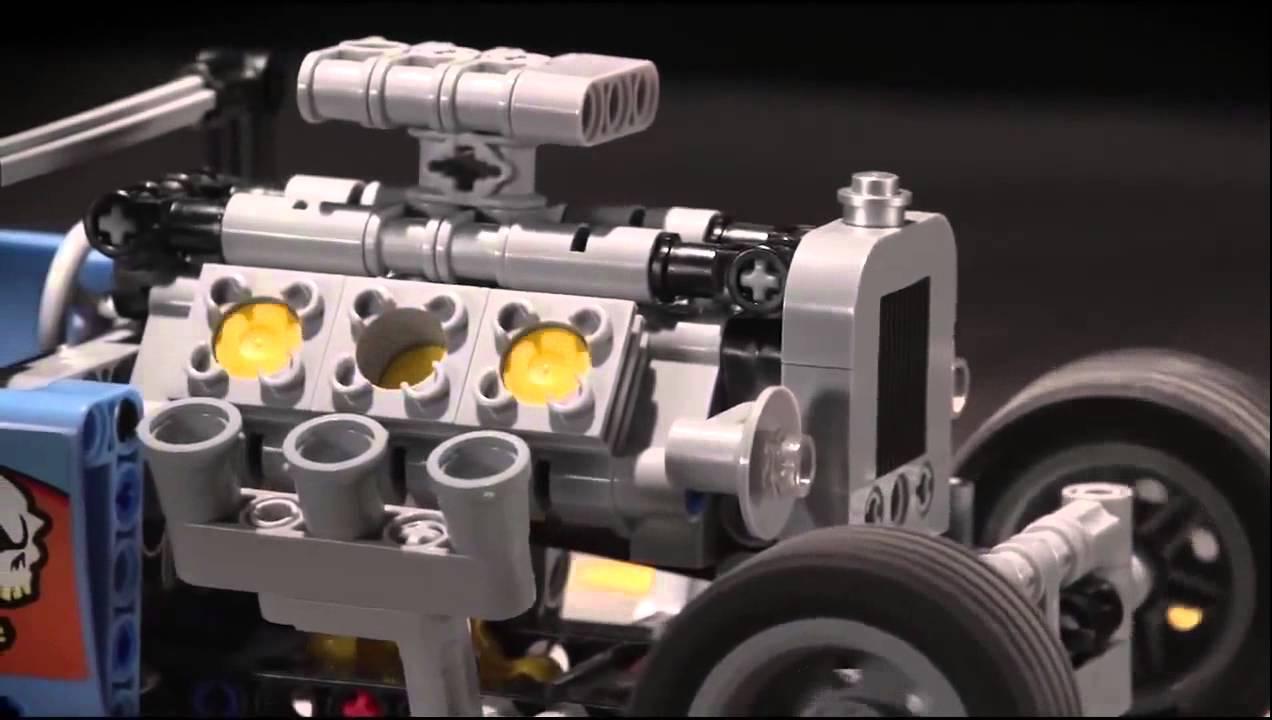 Как сделать лего мотор фото 283