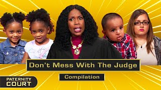 Don't Mess With The Judge: Judge Lake Gets MAD (Compilation)   Paternity Court