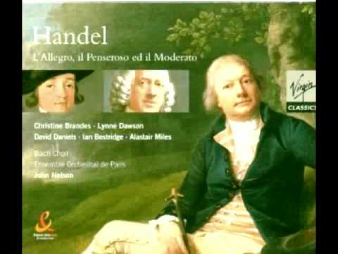 Two baroque arias in which the vocal soloist interacts with a wind soloist