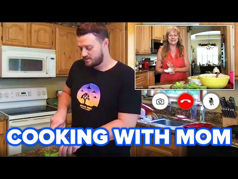 We Tried Cooking With Our Moms On Zoom • Tasty