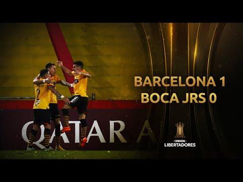 Barcelona SC Boca Juniors Goals And Highlights