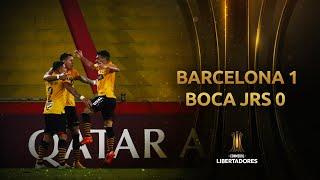 Barcelona vs. Boca [1-0]   RESUMEN   Fecha 3   CONMEBOL Sudamericana 2021