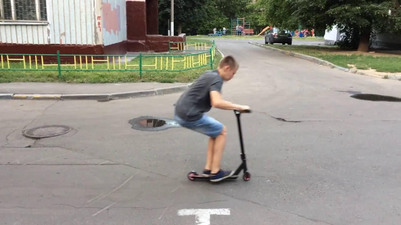 Трюковый самокат Crisp Blaster - YouTube