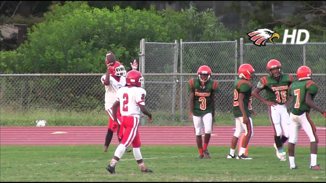 2015 Edgewater Eagles Freshman Highlights Vs Jones Youtube