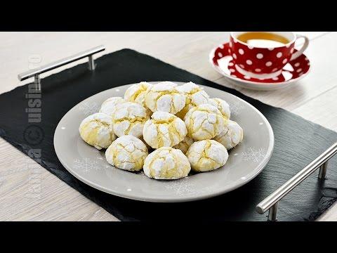 Fursecuri cu lamaie | Lemon Cookies (CC Eng Sub) | JamilaCuisine
