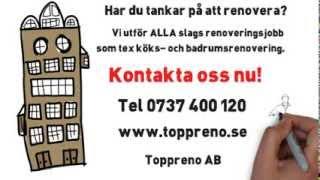Renovera Badrum i  Stockholm - Ring Toppreno 0737 400 120(, 2013-12-17T20:04:32.000Z)