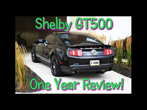 Shelby GT500 Review - Is this car for you? My One Year Daily Driver Review, thoughts and comments!