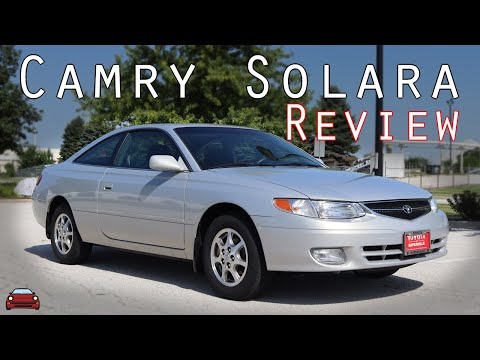 2001 Toyota Camry Solara SE 5 Speed Review