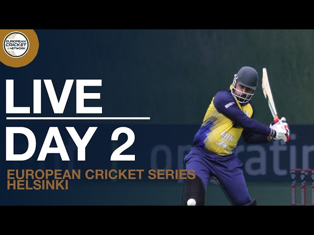 🔴 Live European Cricket Series Helsinki, Finland, Day 2 | Cricket Live Stream