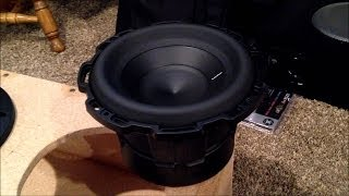 """Rockford Fosgate Punch Stage 2 Subwoofer Review 