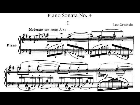 Leo Ornstein - Piano Sonata No. 4 (1918)