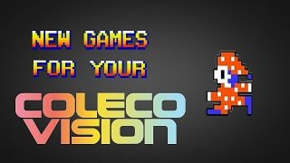 New Games for your ColecoVision