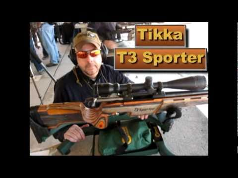 Tikka T3 Sporter in Competition Stock --  223 Rem