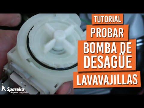 Como Probar La Bomba De Desague De Tu Lavavajillas Youtube