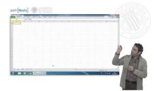 Hojas de cálculo. Excel 2010   UPV thumbnail