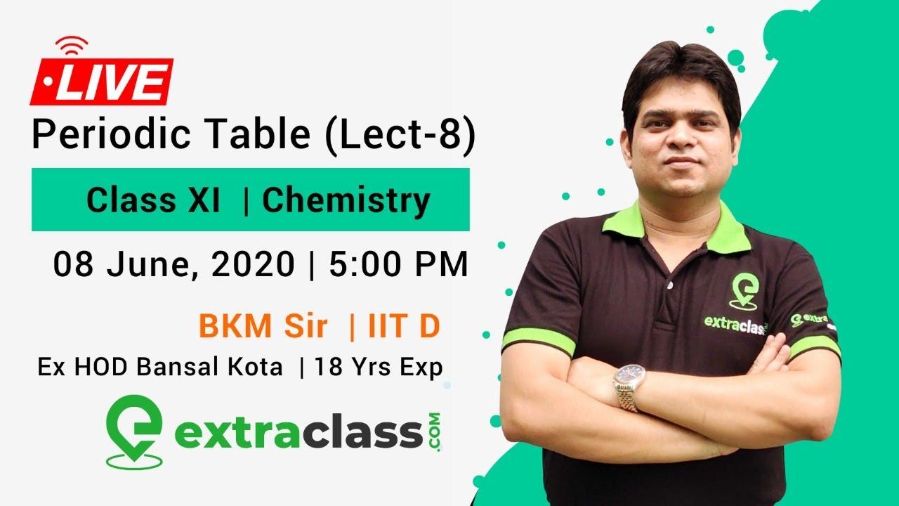 Periodic Table (Lec-8)
