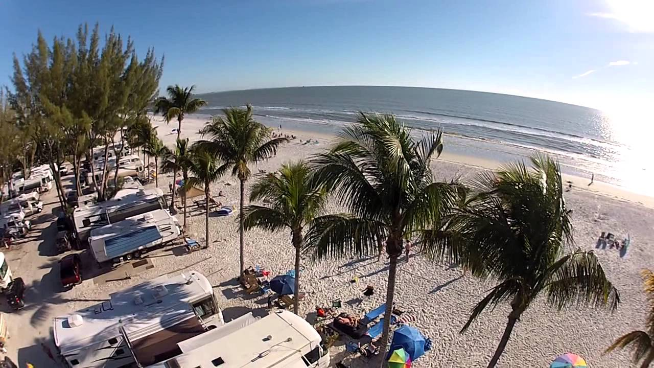 Gopro On The Hex Copter At Fort Myers Beach Youtube