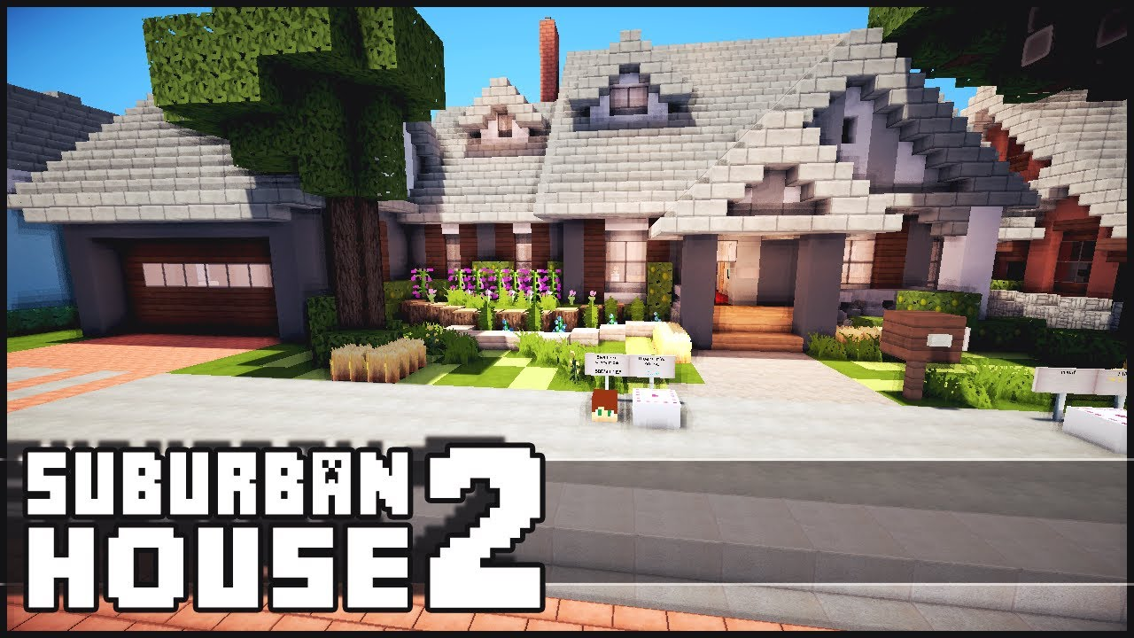 Minecraft Suburban House 2 YouTube