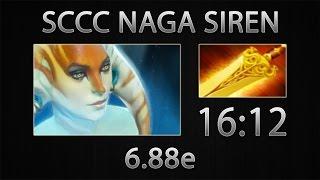 Dota 2 Naga Siren Fast Farm - Sccc - Radiance - 16:12 [6.88e]