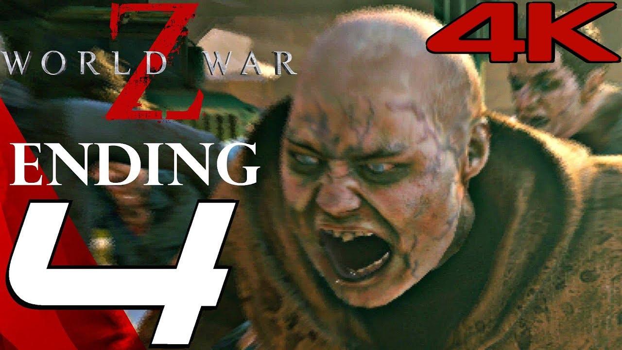 WORLD WAR Z Game - Gameplay Walkthrough Part 4 - Tokyo & ENDING [4K 60FPS  ULTRA]
