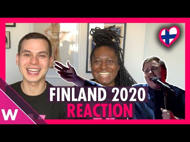 Finland Eurovision 2020 reaction: Aksel -