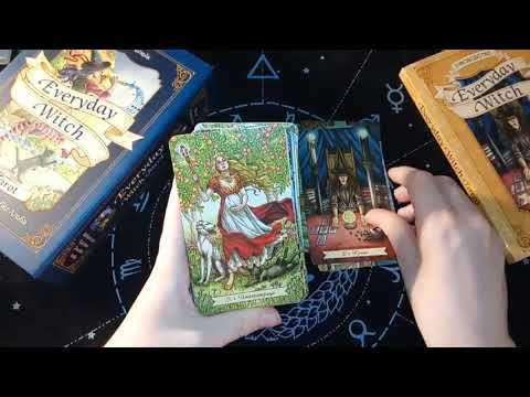 Everyday Witch Tarot Эксмо обзор колоды карт таро