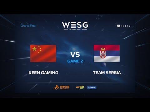 Keen Gaming против Team Serbia, game 2, WESG 2017 Grand Final