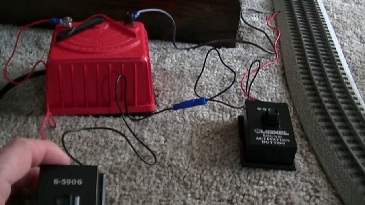 small resolution of showing how to hook up lionel sound buttons and review on my weaver chessie system u25b engine