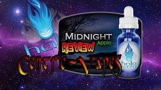 Halo Cigs Midnight Apple E Liquid Review