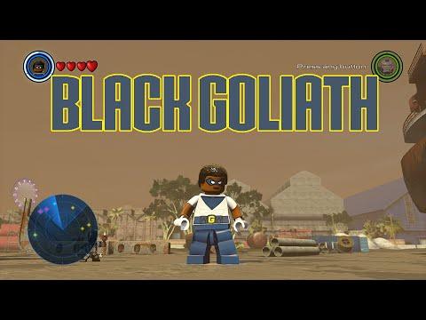 LEGO Marvel's Avengers  - Black Goliath Gameplay and Unlock Location